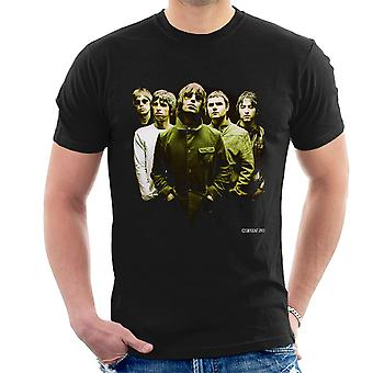 Oasis Band Liam Noel Gallagher mäns T-Shirt