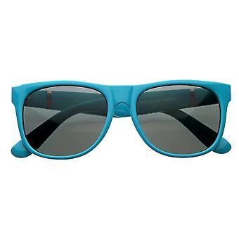 Retro-superflach Hipster Trend Horn umrandeten Sonnenbrillen