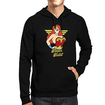 Wonder Wabbit Jessica Rabbit Wonder Woman Men's Hooded Sweatshirt