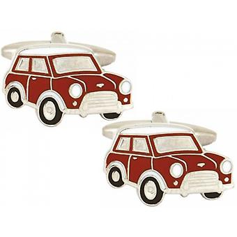 Zennor Mini Cufflinks - Red