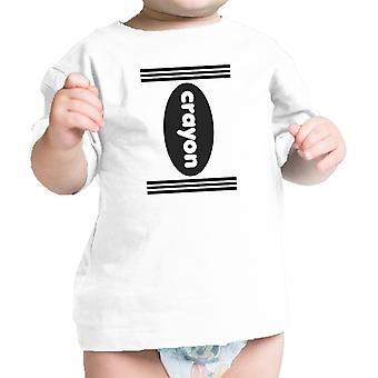 Crayon Costume Baby Shirt White Cotton Halloween Baby Tee Gifts