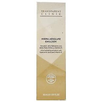 Transparent Clinic Absolute Hydra Emulsion with hyaluronic acid and Vitamin E. 30ml