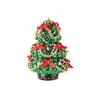 Pinflair Sequin & Pin Christmas Kit - Yuletide Tree Bauble Ornament
