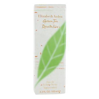 Elizabeth Arden Green Tea Revitalize 100ml Eau de Toilette Spray for Women