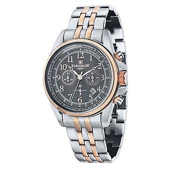 Thomas Earnshaw Es-8028-66 Commodore Two Tone Stainless Steel Chronograph Men's Watch