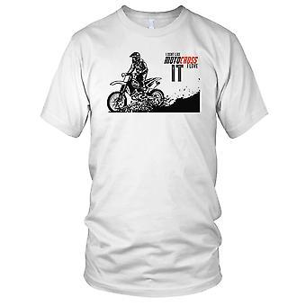 Ik DonÕt graag Motocross I Love It Biker Offroad dames T Shirt