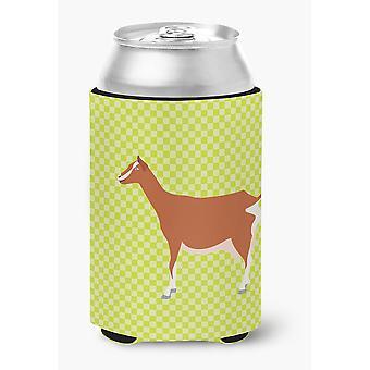 Carolines Treasures  BB7707CC Toggenburger Goat Green Can or Bottle Hugger