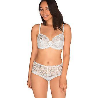 Sans Complexe 709611 kobiet Clemence White Floral Lace wyściełane fiszbinach cały biustonosz filiżanki