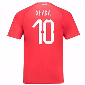 2018-19 Switzerland Home Shirt (Xhaka 10) - Kids