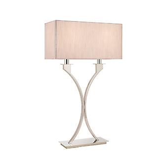 Vienna Table Lamp With Beige Shade - Interiors 1900 63748