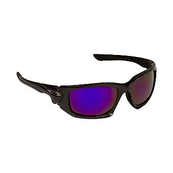 Scalpel vervanging lenzen gepolariseerde zilver & Purple door SEEK past OAKLEY