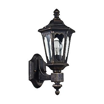 Maytoni Lighting Oxford Outdoor Collection Wall Mounted Coach Lantern, Bronze