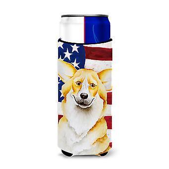 Corgi Patriotic Michelob Ultra Hugger for slim cans