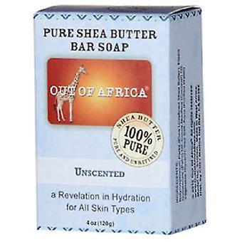 アフリカの純粋なシアバター石鹸無香料 2 バー パック バーのうち