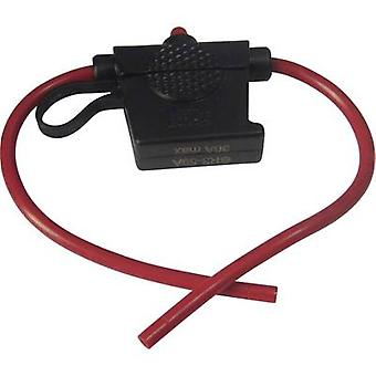 Car fuse holder incl. status indicator Suitable for Blade-type fuse (standard)