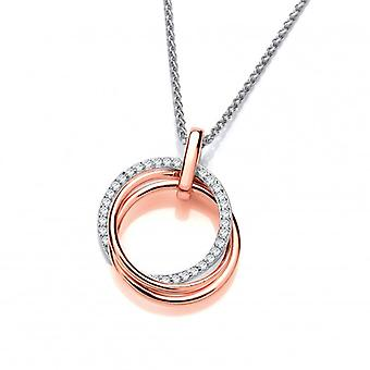Cavendish French Loops and Hoops Pendant with 16-18