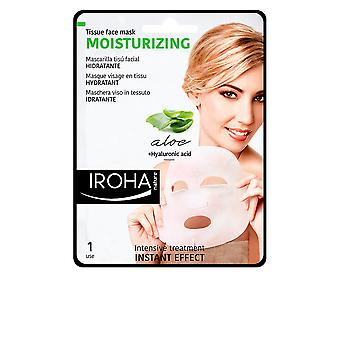 Iroha Tissue Mask Moisturizing Aloe + Green Tea + Ginseng + Ha Womens New