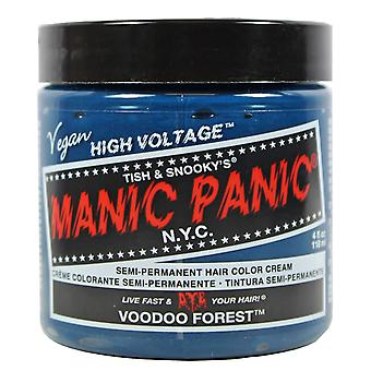Manic Panic Classic Semi Permanent Hair Dye Cream Colour Voodoo Forest Green
