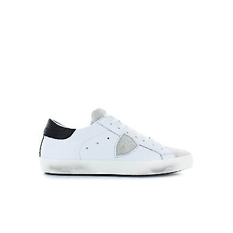 PHILIPPE MODEL PARIS BASIC WHITE/GREY SNEAKER
