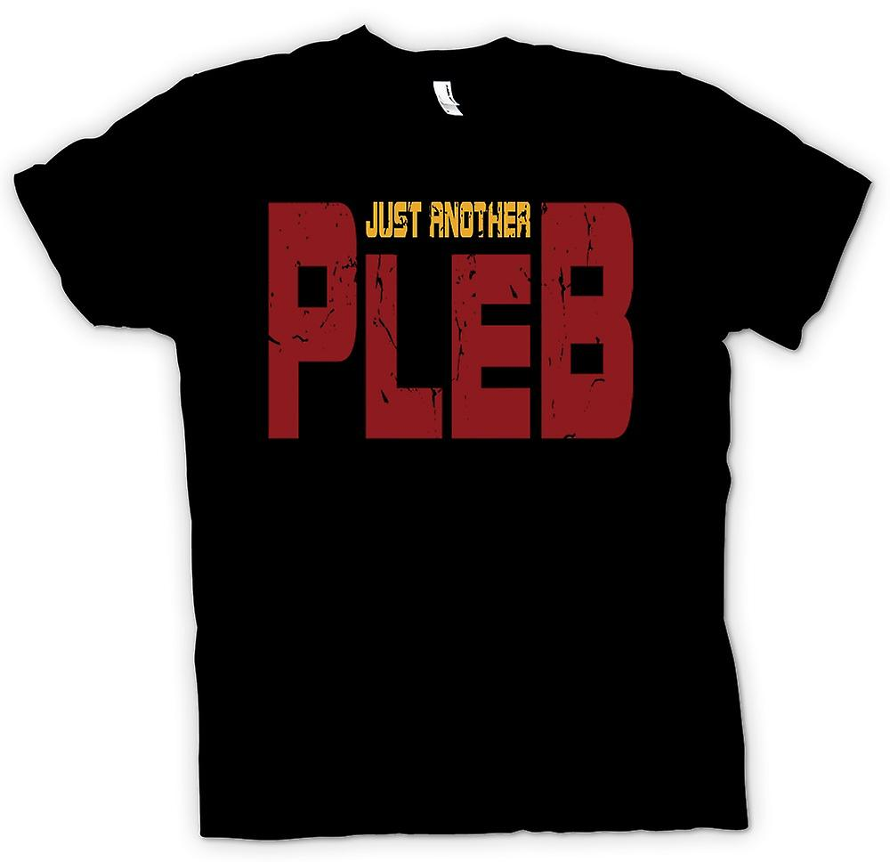 Mens T-shirt - Just Another Pleb - Funny