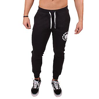 Men's Slim Fit Joggers Black