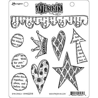 Dyan Reaveley's Dylusions Cling Stamp Collections 8.5