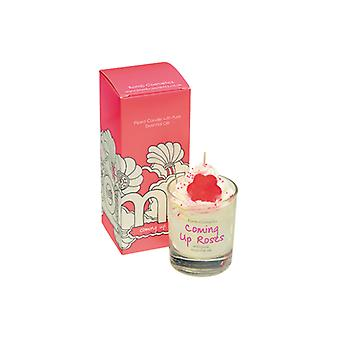 Bomb Cosmetics Bomb Coosmetics Piped Glass Candle - Coming Up Roses