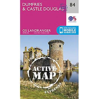 Dumfries  Castle Douglas by Ordnance Survey