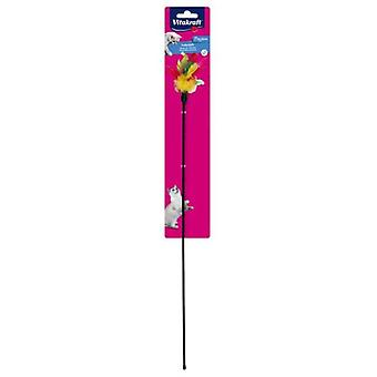 Vitakraft Duster For Cats (Cats , Toys , Teaser Wands)