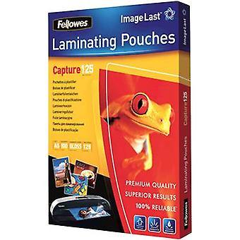 Laminate sheet Fellowes A5 125 micron glossy 100 pc(s)