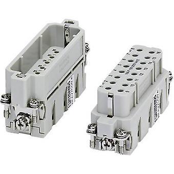 Plug inset HC-A 1677076 Phoenix Contact 16 + PE Crimp 1 pc(s)