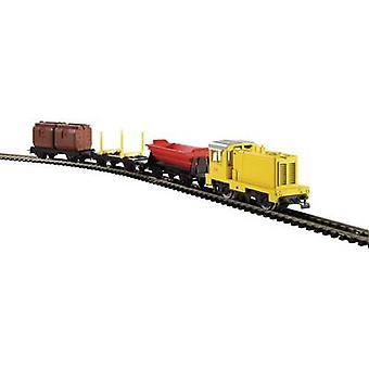 Piko H0 57090 Piko 57090 H0 myTrain® moteur Diesel DB + marchandises Wagons Set de débutants