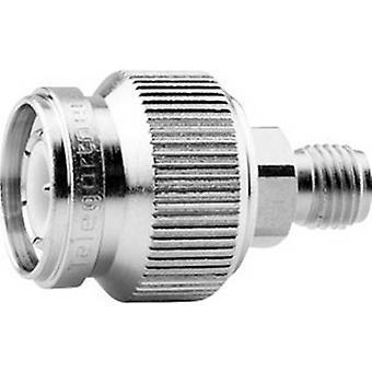 Coax adapter TNC plug - SMA socket Telegärtner J01019A0032 1 pc(s)