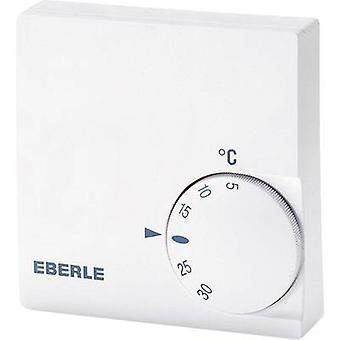 Modo de 24 h de Eberle RTR-E 6721 interior termostato de montaje en superficie de 5 a 30 ° C