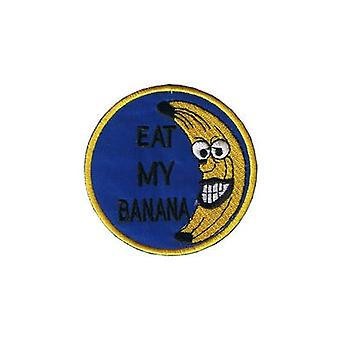 Eat My Banana Iron-On/Sew-On Cloth Patch