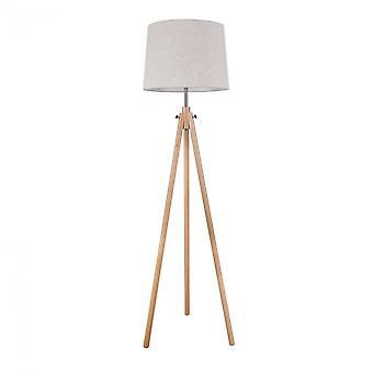 Maytoni Lighting Calvin Table & Floor Floor Lamp, Brown