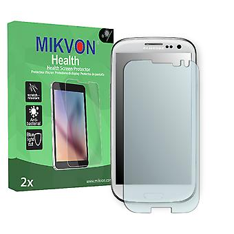 Samsung Galaxy S3 Neo Screen Protector - Mikvon Health (Retail Package with accessories) (intentionally smaller than the display due to its curved surface)
