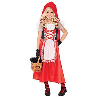 Little Red Riding Hood Red Cape Story Fairytale Book Week Girls Costume