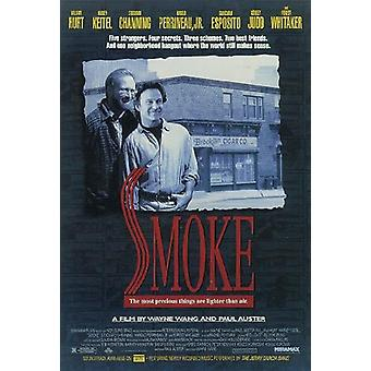 Smoke poster Harvey Keitel, William hurt