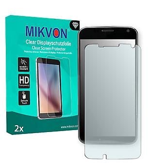 Motorola MOTO X Screen Protector - Mikvon Clear (Retail Package with accessories) (intentionally smaller than the display due to its curved surface)
