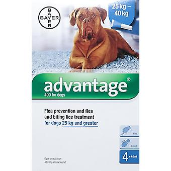 Advantage Blue Dogs Over 55lbs (25kg)
