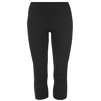USA Pro Womens Capri Performance collant pantaloni pantaloni pantaloni Zip