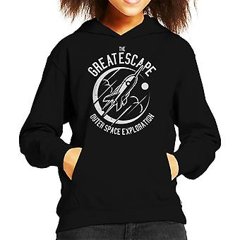 The Great Escape Space Exploration Kid's Hooded Sweatshirt