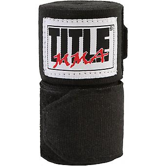 Title MMA Semi Elastic Handwraps