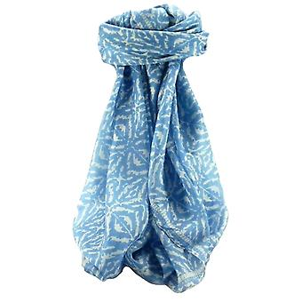 桑絹現代正方形スカーフ抽象 A316 パシュミナ ・ シルクで