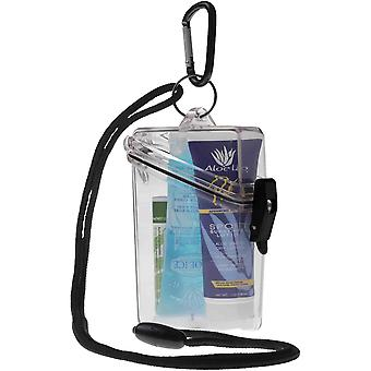 Witz Lightweight Waterproof Sun Care Kit with Lanyard and Carabiner