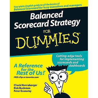 Balanced Scorecard stratégie pour les nuls par Charles Hannabarger - Fred