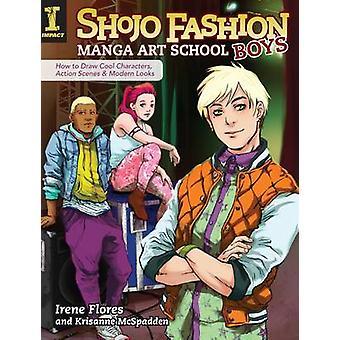 ENSAV Manga Shojo Fashion - Boys - comment dessiner des personnages-