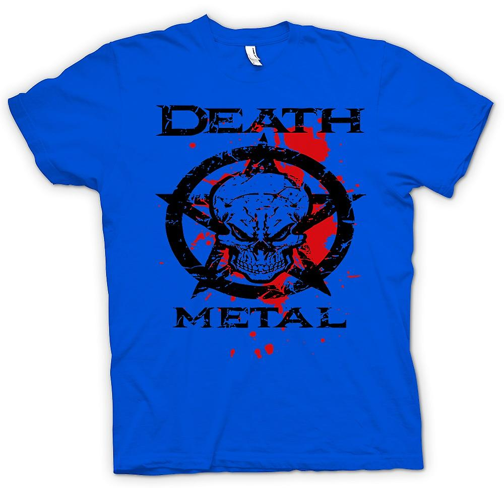 Mens T-shirt - Death Metal - Thrash Metal noir - musique
