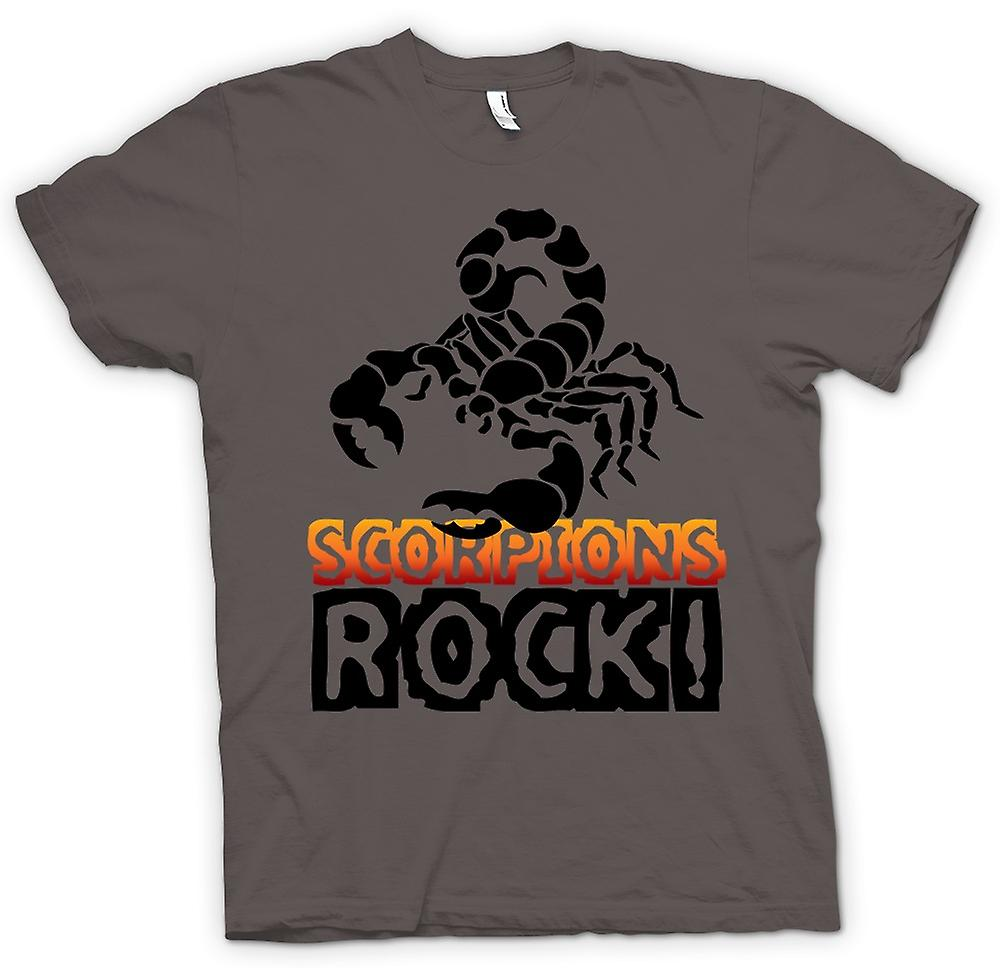 Womens T-shirt-Scorpions-Rock